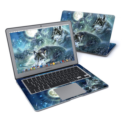 MacBook Air 13in Skin - Bark At The Moon
