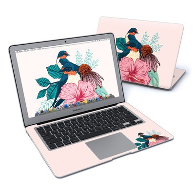 MacBook Air 13in Skin - Barn Swallows