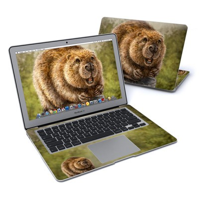 MacBook Air 13in Skin - Beaver Totem