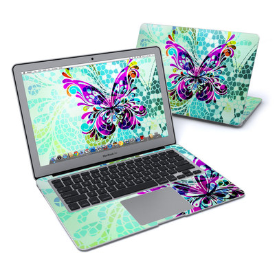 MacBook Air 13in Skin - Butterfly Glass