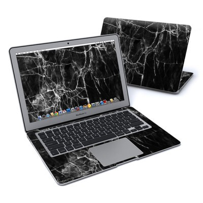 MacBook Air 13in Skin - Black Marble