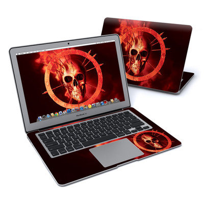 MacBook Air 13in Skin - Blood Ring