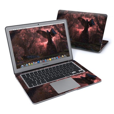 MacBook Air 13in Skin - Black Angel
