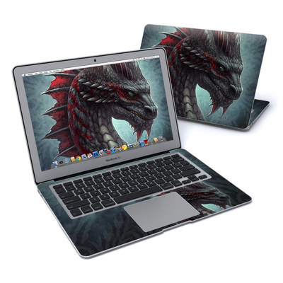 MacBook Air 13in Skin - Black Dragon