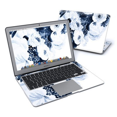 MacBook Air 13in Skin - Blue Blooms