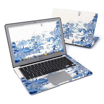 MacBook Air 13in Skin - Blue Willow