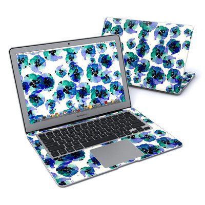 MacBook Air 13in Skin - Blue Eye Flowers