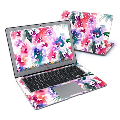 MacBook Air 13in Skin - Blurred Flowers
