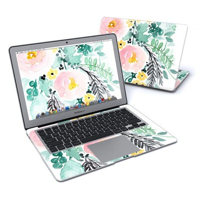MacBook Air 13in Skin - Blushed Flowers