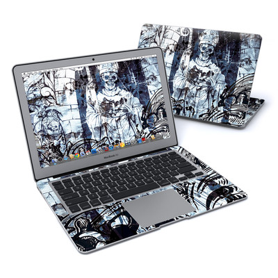 MacBook Air 13in Skin - Black Mass