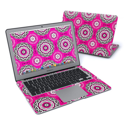 MacBook Air 13in Skin - Boho Girl Medallions