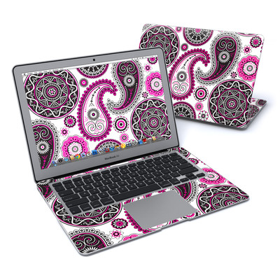 MacBook Air 13in Skin - Boho Girl Paisley