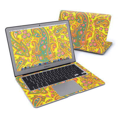 MacBook Air 13in Skin - Bombay Chartreuse