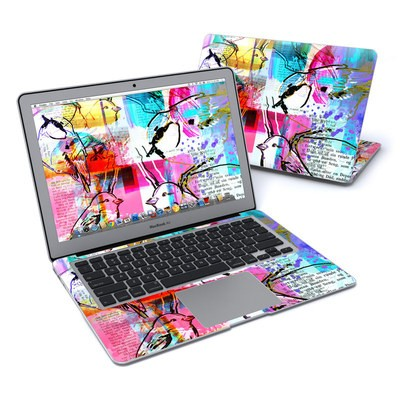 MacBook Air 13in Skin - Book Birds
