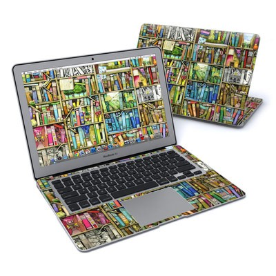 MacBook Air 13in Skin - Bookshelf