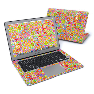 MacBook Air 13in Skin - Bright Ditzy