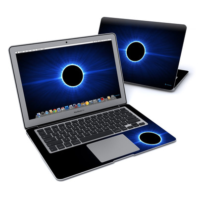 MacBook Air 13in Skin - Blue Star Eclipse