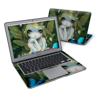 MacBook Air 13in Skin - Butterfly Lily