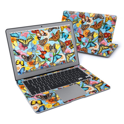 MacBook Air 13in Skin - Butterfly Land