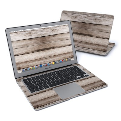 MacBook Air 13in Skin - Barn Wood