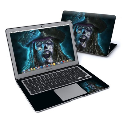 MacBook Air 13in Skin - Captain Grimbeard