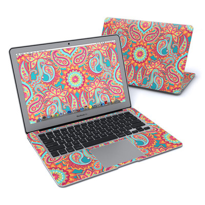 MacBook Air 13in Skin - Carnival Paisley