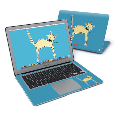 MacBook Air 13in Skin - Cat