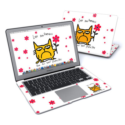 MacBook Air 13in Skin - Catwad Happy