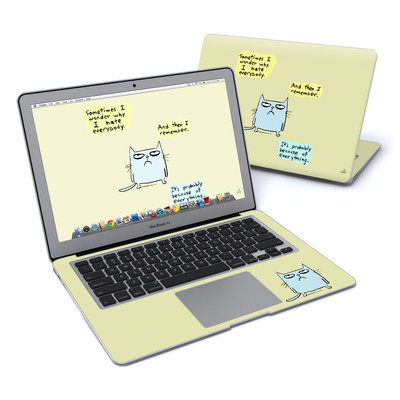 MacBook Air 13in Skin - Catwad Hate
