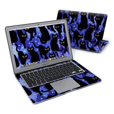 MacBook Air 13in Skin - Cat Silhouettes