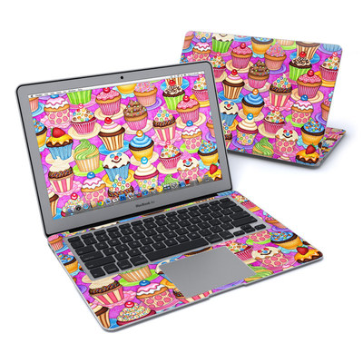 MacBook Air 13in Skin - Cupcake