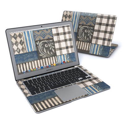 MacBook Air 13in Skin - Country Chic Blue