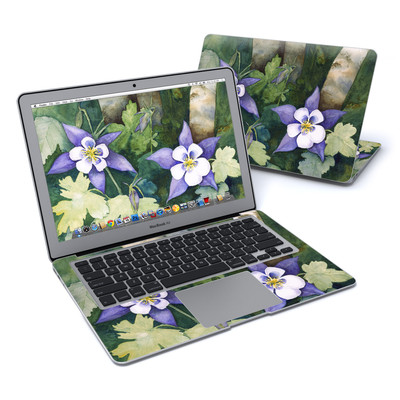 MacBook Air 13in Skin - Colorado Columbines
