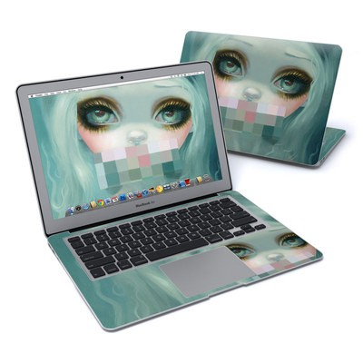 MacBook Air 13in Skin - Censored Smile
