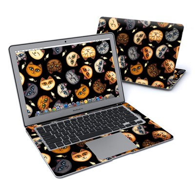 MacBook Air 13in Skin - Cat Faces