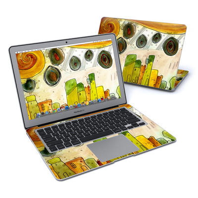 MacBook Air 13in Skin - City Life