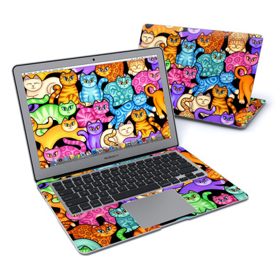 MacBook Air 13in Skin - Colorful Kittens