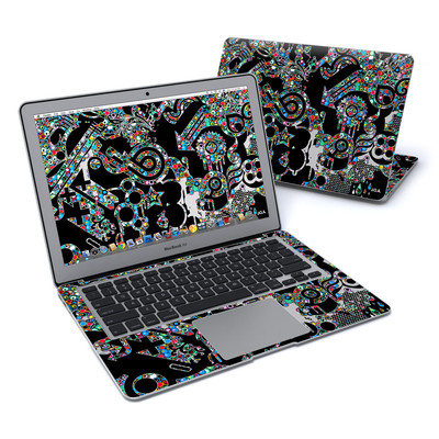 MacBook Air 13in Skin - Circle Madness