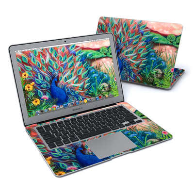 MacBook Air 13in Skin - Coral Peacock