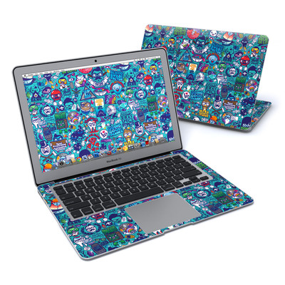 MacBook Air 13in Skin - Cosmic Ray