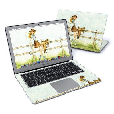 MacBook Air 13in Skin - Cowgirl Glam