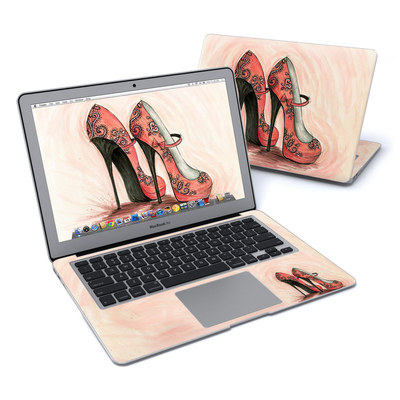 MacBook Air 13in Skin - Coral Shoes