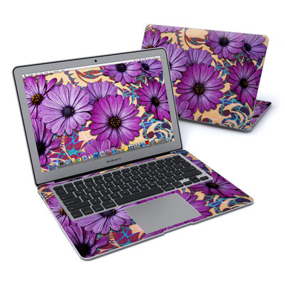 MacBook Air 13in Skin - Daisy Damask