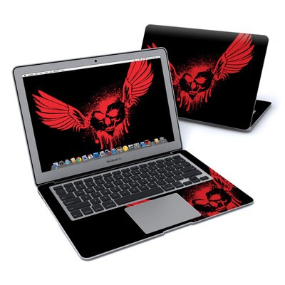 MacBook Air 13in Skin - Dark Heart Stains