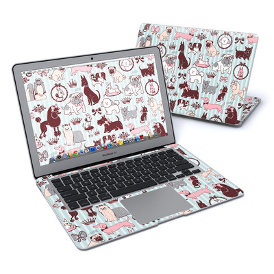 MacBook Air 13in Skin - Doggy Boudoir