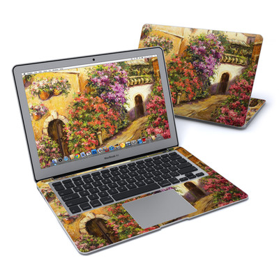 MacBook Air 13in Skin - Via Del Fiori