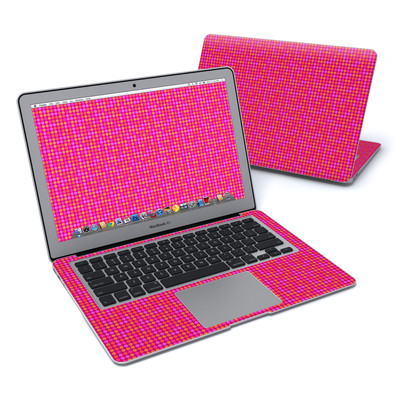 MacBook Air 13in Skin - Dots Pink