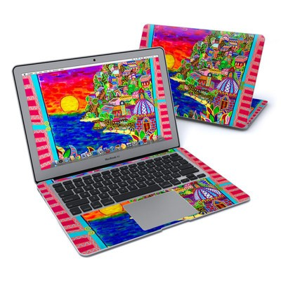 MacBook Air 13in Skin - Dreaming In Italian