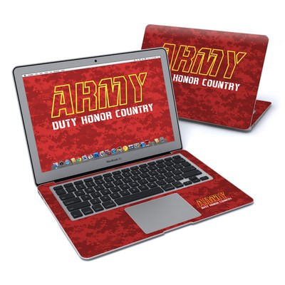 MacBook Air 13in Skin - Duty and Honor