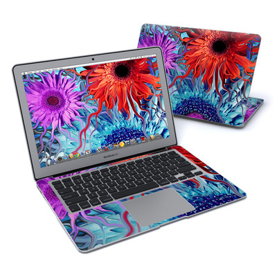 MacBook Air 13in Skin - Deep Water Daisy Dance